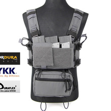 MK3 Light Tactical Micro Chest Rig Complete Set Urban Wolf Grey(SKU051457)