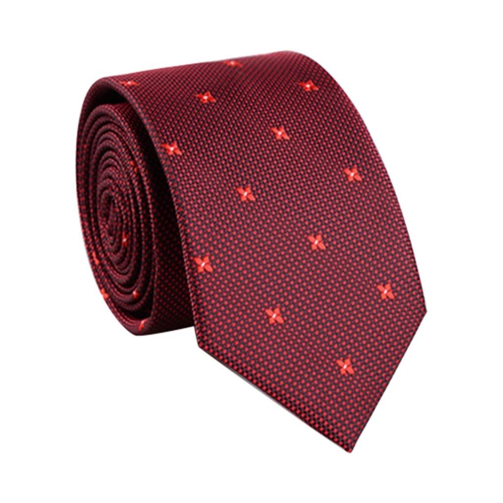 Style Neck Tie For Men Slim Tie Solid Color Necktie Polyester Narrow Cravat  Royal Party Formal Ties Fashion Necktie Wedding 920