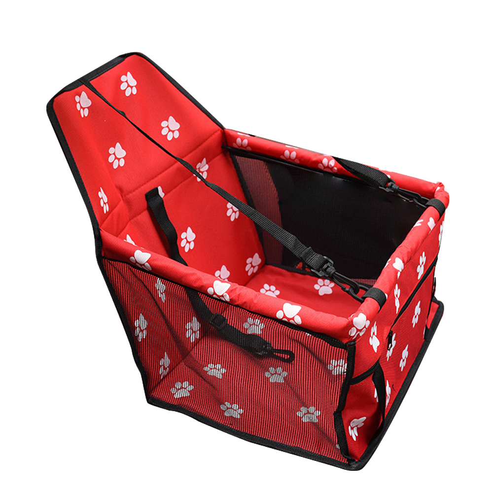 Travel Dog Car Carrier Seat Cover Folding Hammock Pet Carriers Bag Carrying For Dogs Cats Transportin Pet Basket Waterproof 16