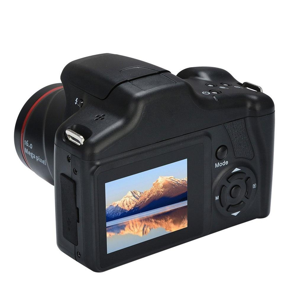 Camcorder Video-Camera Interface Ultra-Light Professional AV Zoom 1080P 16X Full-Hd title=