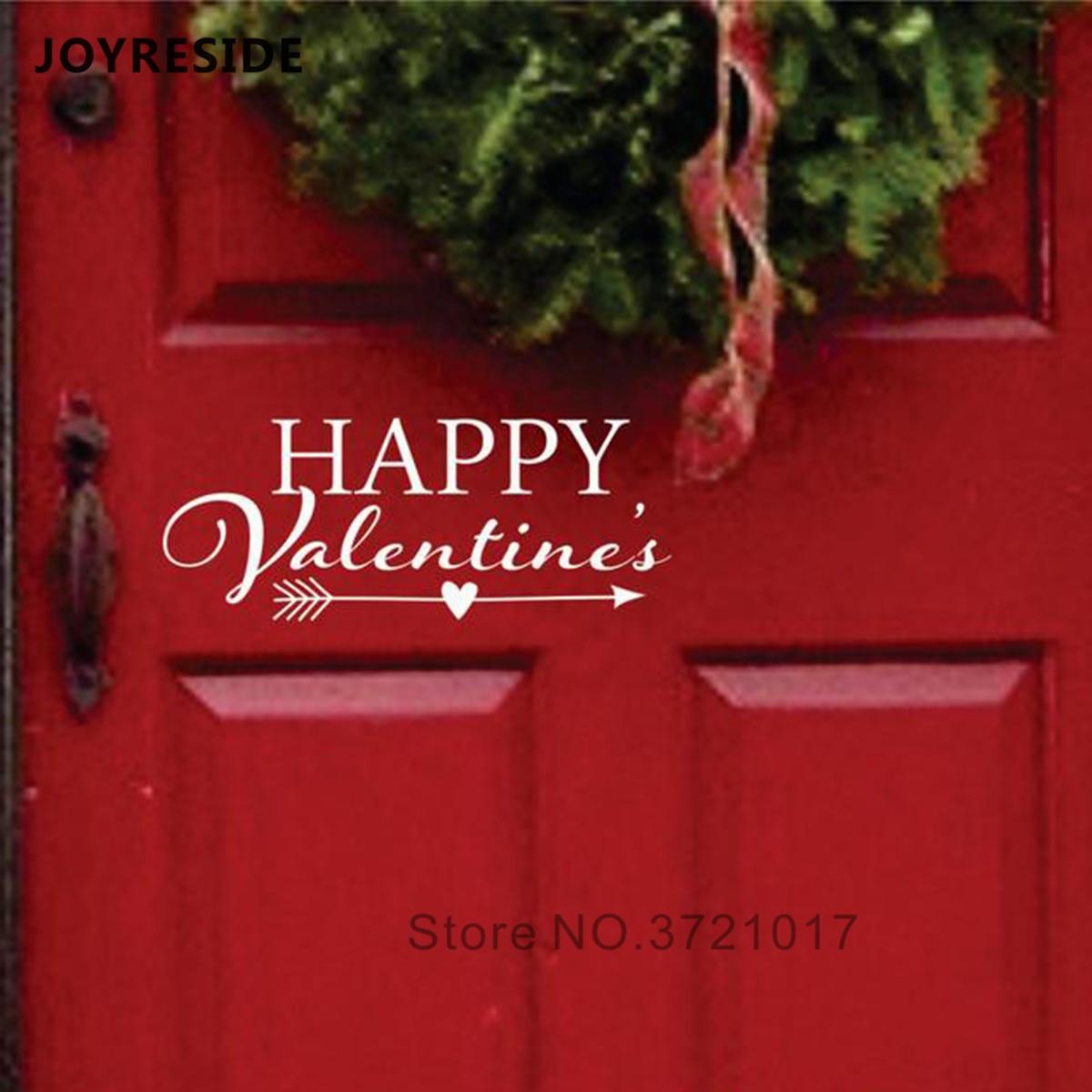 Love Valentines Gift Decor Vinyl Wall Decals Sticker Words Letters Wedding Decor