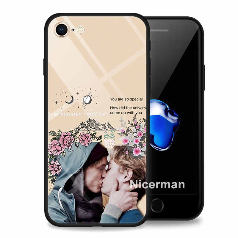 Чехол skam Gay best quotes из закаленного стекла Coque для iPhone 7 8 Plus 6 6s Plus XR X XS MAX XIR XI MAX glass Cover