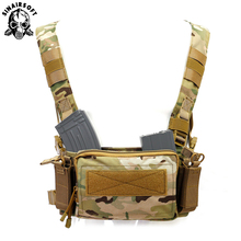 Backpack Chest-Rig-Bag Military Tactical Pouch Molle-Tool Multi-Functional Adjustable