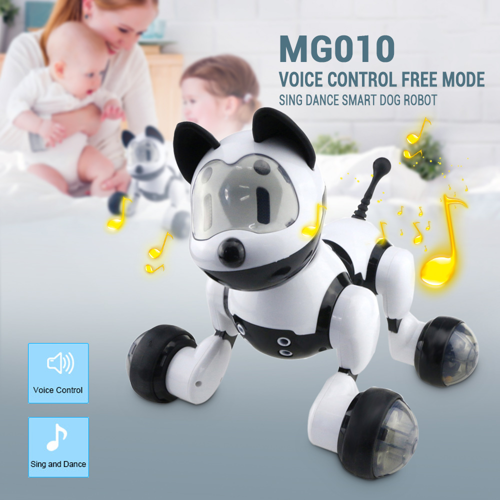 Cute Pets Smart Intelligent Walk Sing Dance Dog for Kids Toddler Birthday Gift Toch RC Robot Dog