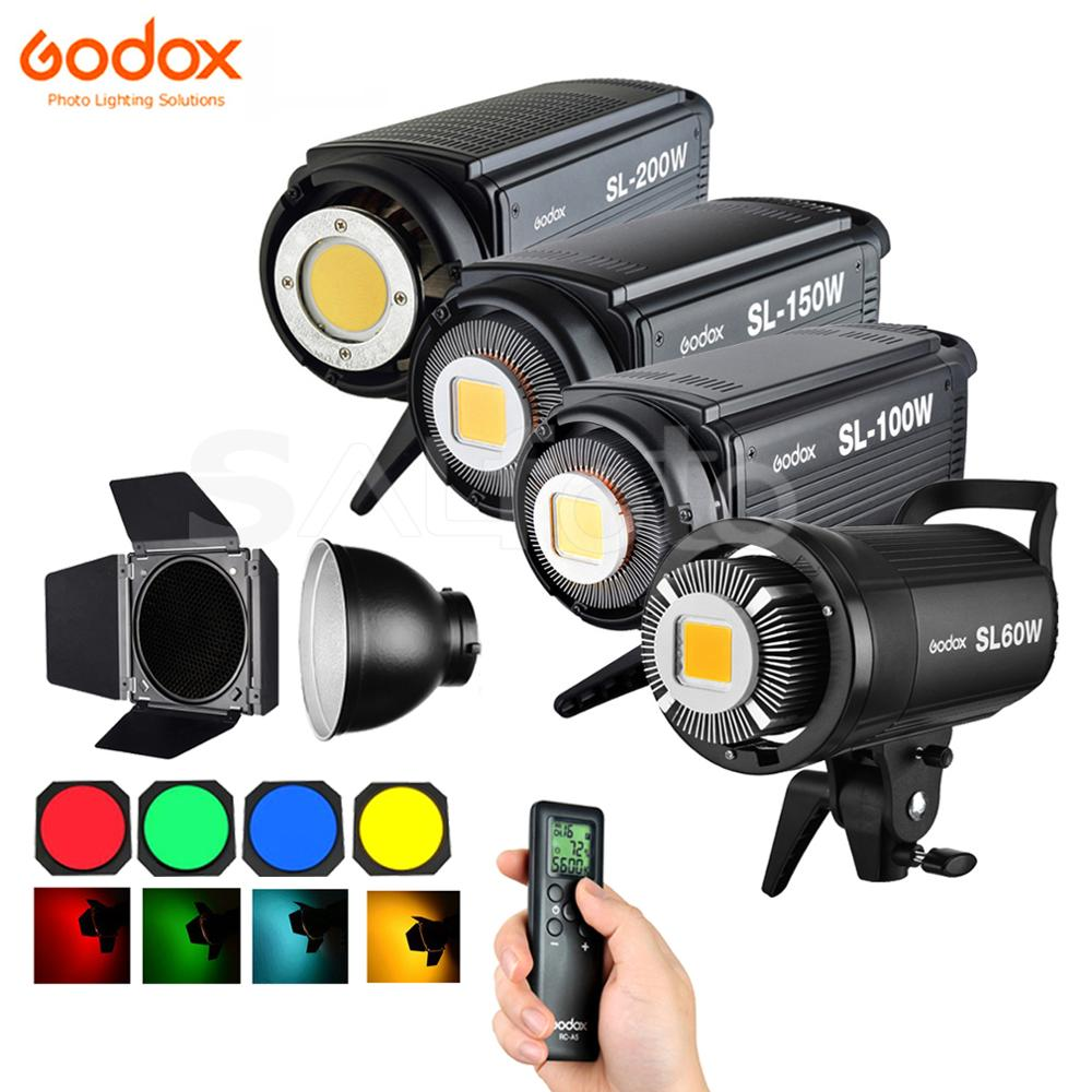 Godox GRID-FILTER Lighting Continuous-Light Barn-Door Led Video SL60W SL200W SL-100W title=