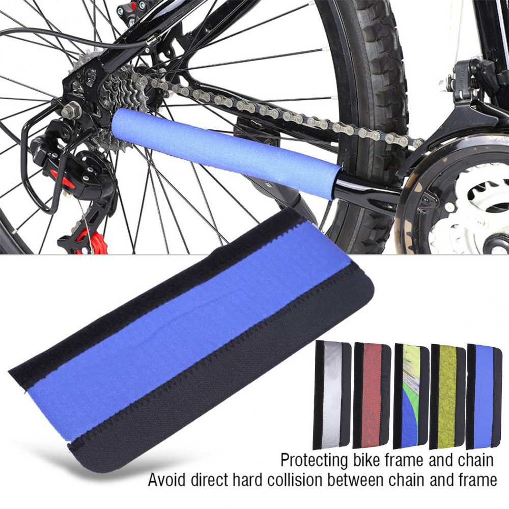 2x Bike Chain Protector Guard Bicycle Frame Cover Chain Stay Protector