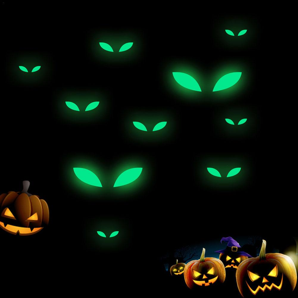 Peeks Spooky Jack O/'Lantern Pumpkin Peel Halloween Party Decorations Wall Decal