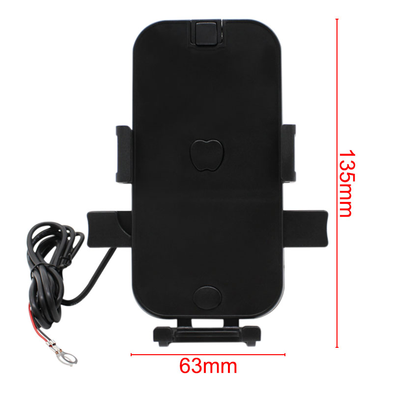 USB Charger Motorcycle Moto USB Charger Waterproof Universal 12V USB Scooter Motorcycle Phone Holder Motorcycle Accessories