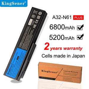 Аккумулятор KingSener для сотового A32-N61 в Корейском стиле, для ASUS N61 N61J N61D N61V N61VG N61JA N61JV M50s N43S N43JF N43JQ N53 N53S N53SV A32-M50