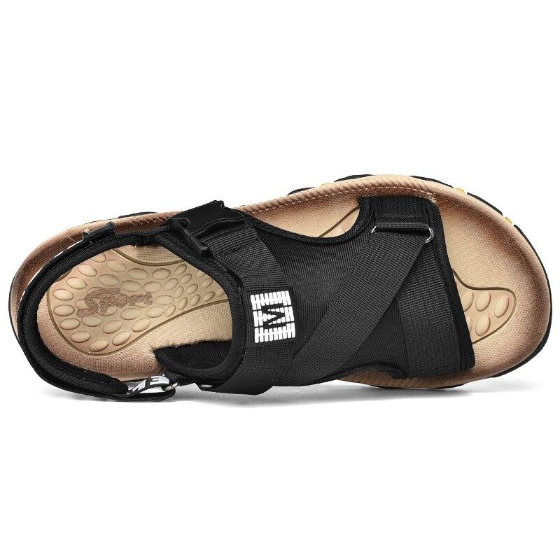 Outdoor Fashion Men Sandals Summer Men Shoes Casual Shoes Breathable Beach Sandals Sapatos Masculinos Plus Size 39-47