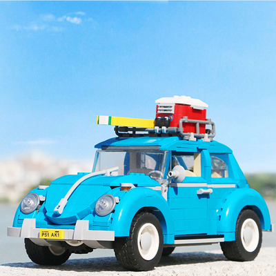 For Legoing Technic Retro Classic Toy Car Mini Cooper T1 Camper Van For Legoings Creator Car Series Blocks Toys Christmas  Gifts