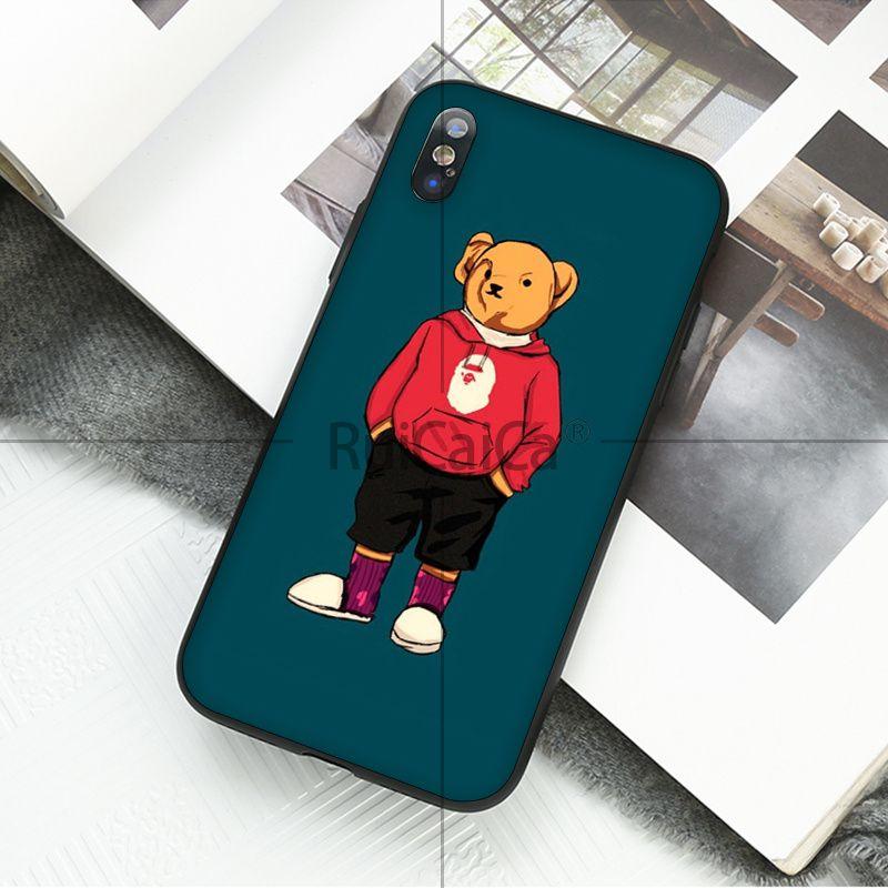 fashion bear Cartoon suprem Fundas