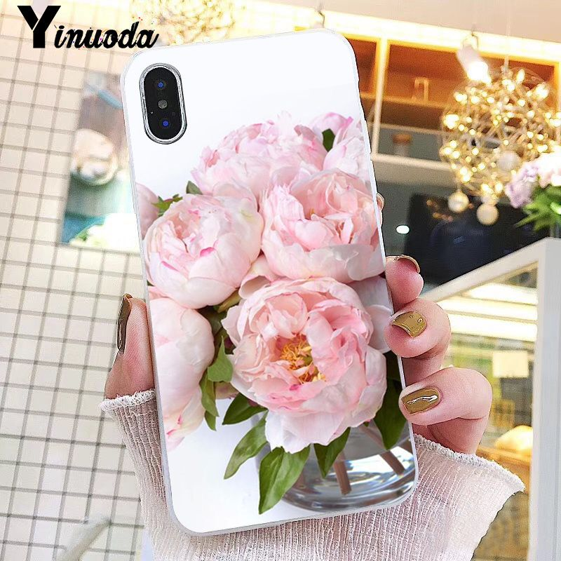 Pink Flower Peony On The Vase