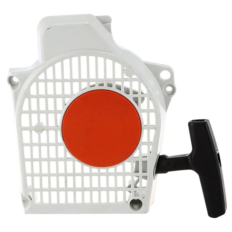 Arranque Apto para Stihl MS200T 020T MS200 Motosierra Extractor de Arranque de Retroceso para Stihl MS200T 020T MS200 Motosierra Fdit Arrancador de Retroceso Retroceso