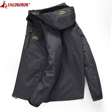 Hooded Coat Bomber-Jacket Windbreaker Spring Male Autumn Casual 4XL Men's Tourism