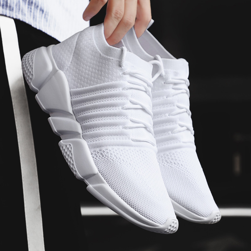 Men Shoes Outdoor Summer Brand-Designer Breathable for Sneakers Professional title=