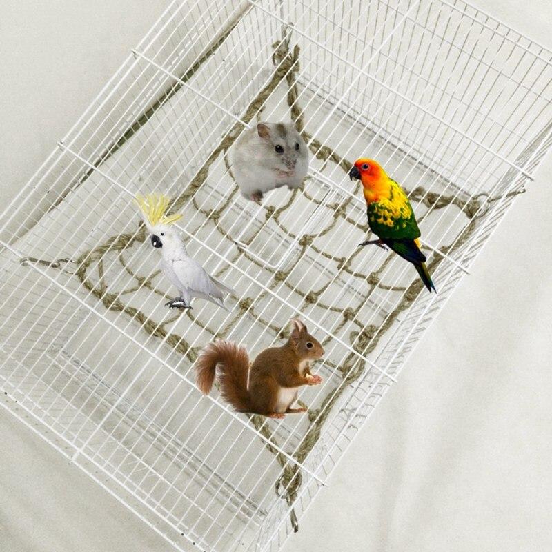 et Bird Cage Net Toys Parrot <font><b>Standing</b></font> De