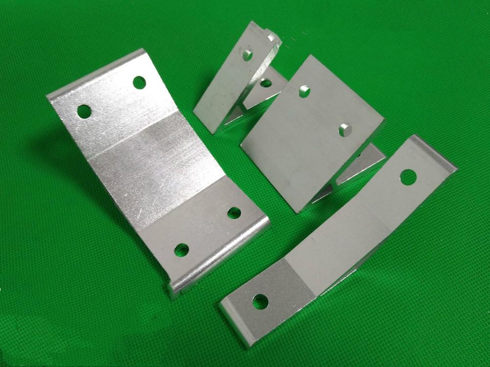 45 degree Corner Angle Bracket Connection Joint for 2020/30/40/45/60 series Aluminum Profile,Silvery or Black
