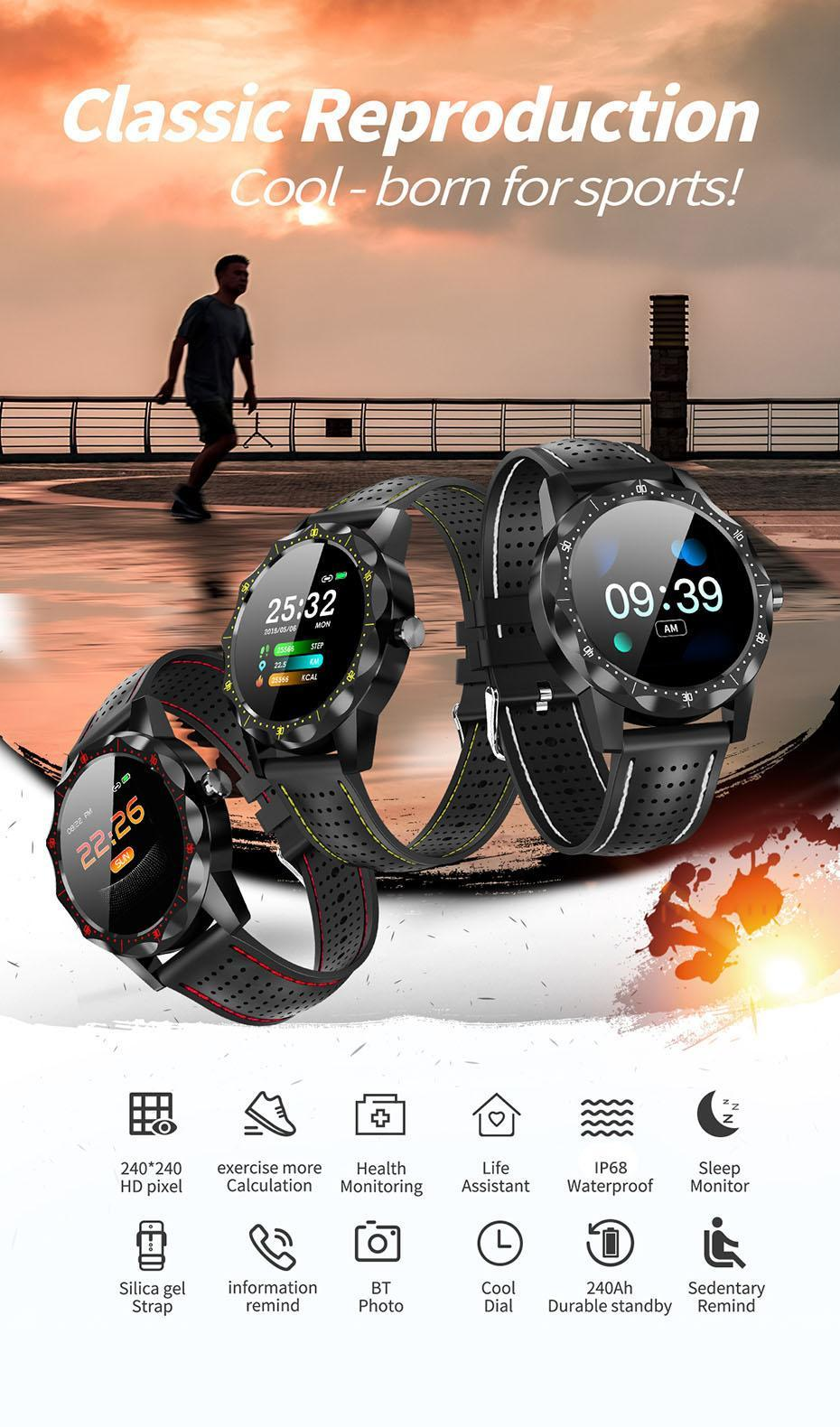 COLMI SKY 1 Smart Watch Men IP68 Waterproof Activity Tracker Fitness Tracker Smartwatch Clock BRIM for android iphone IOS phone 01