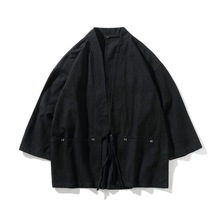 Clothing Cardigan Yukata Kimono Haori Asian Samurai Obi Traditional Japanese-Style Fashion