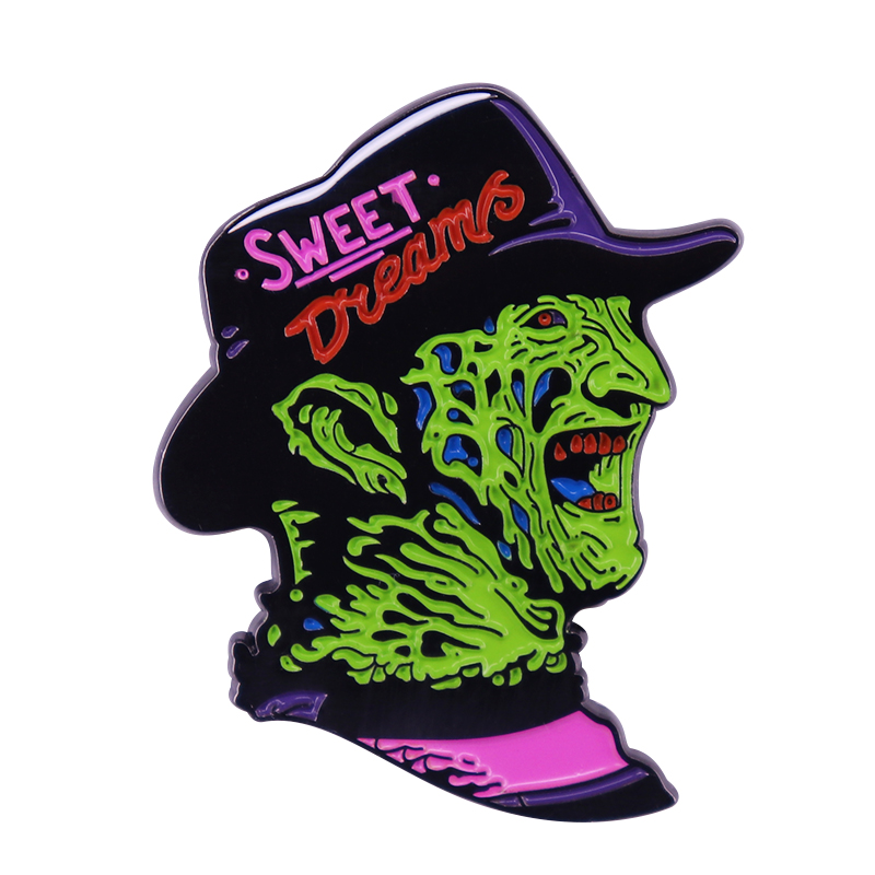 Nightmare on Elm Street - Freddy Krueger Sweet Dreams Horror Pin Happy Halloween Decor.JPG