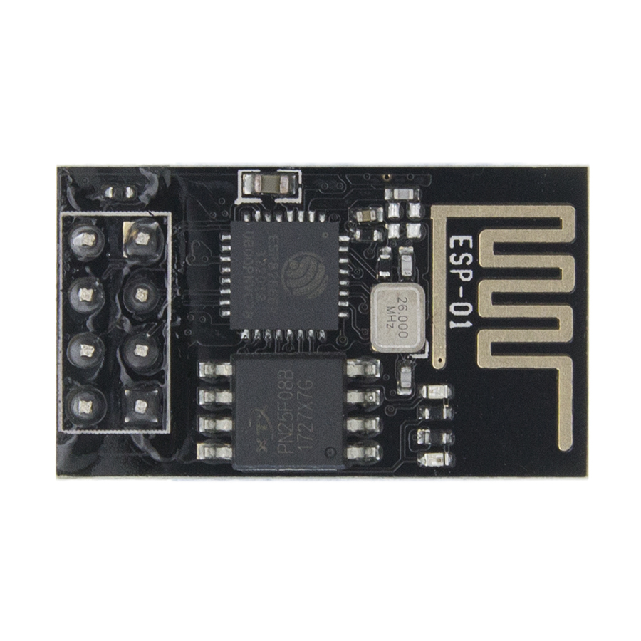 ESP8266 Flash Download Tool 5pcs ESP01 ESP-01s Serial Wireless WiFi Module Transceiver Send Receive LWIP AP+STA