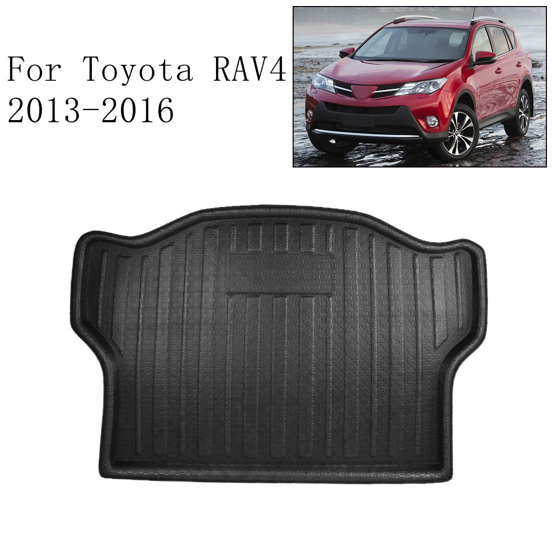 TOYOTA VENZA Rear Cargo Trunk Floor Mat Boot Tray Liner Protector 2013-2016