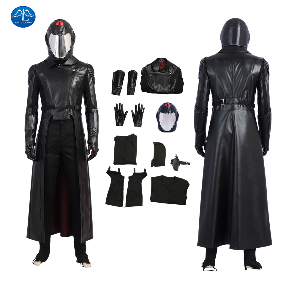 G.I Joe Cobra Commander Uniform Cosplay Costume