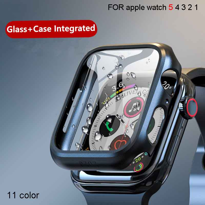 Tempered-Glass Case Cover Bumper Screen-Protector Watch-Accessories Apple Watch 40mm title=