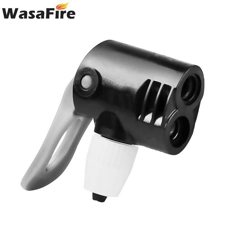 1PC Bicycle Pump Nozzle Hose Adapter black Schrader Valve Pump AccessoriTES