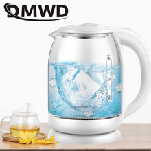 Electric-Kettle Light-Heater Pot-Boiler Teapot DMWD Quick-Heating Blue Glass Boiling