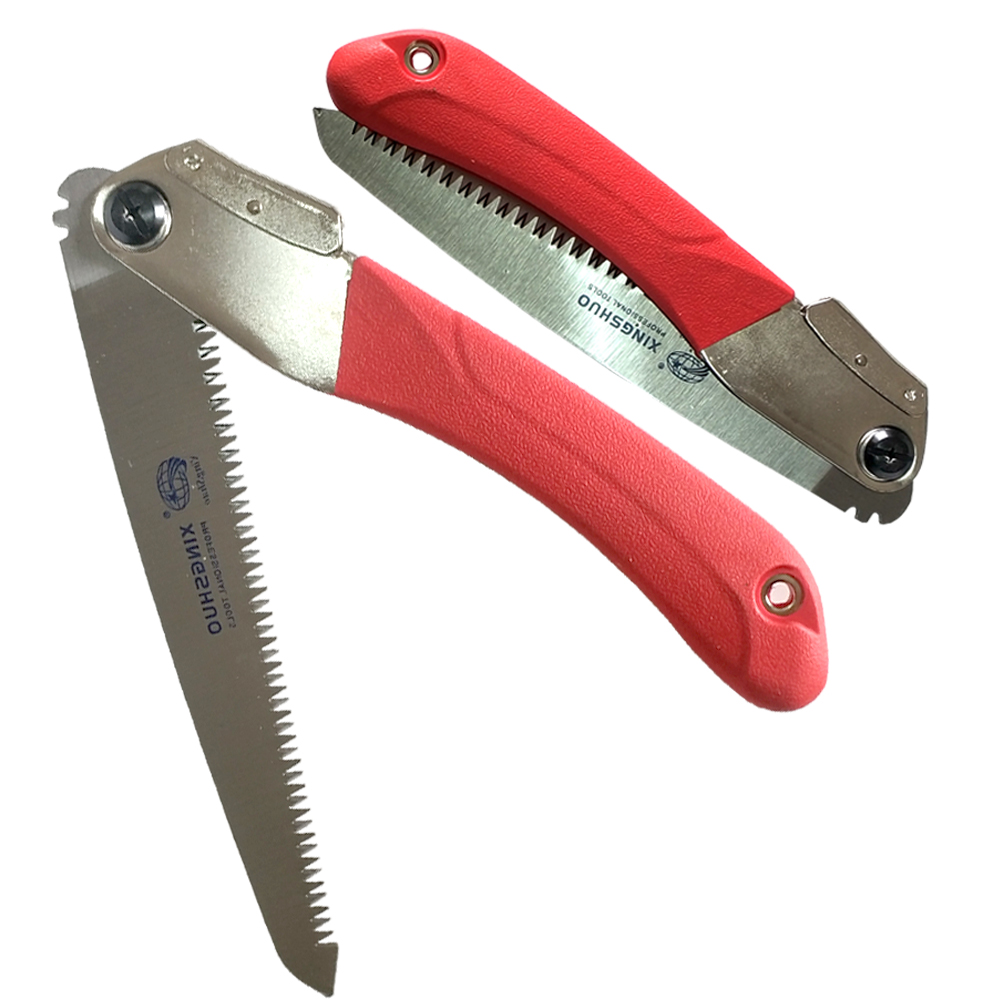 27cm Foldable Pruning Hand Saw with Anti-slip Handle Portable Outdoor Garden NEW