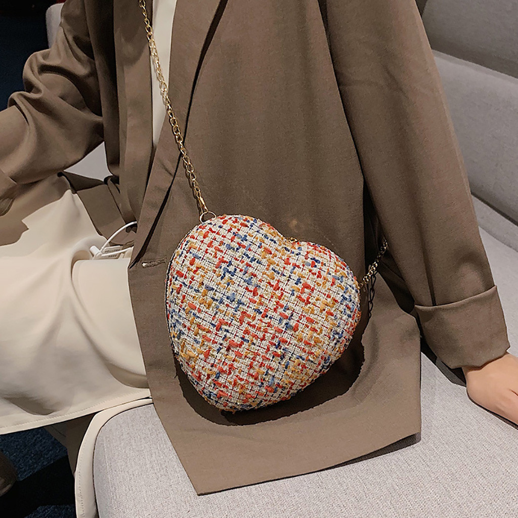 Novelty Colorful Love Shape Rabit Portable Evening Bags Clutch Pouch Purse Handbags Cell Phone Wrist Handbags For Womens