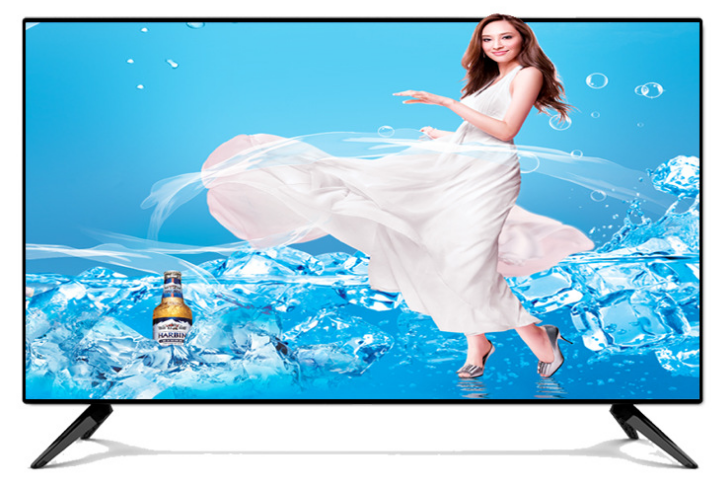 55 inch full HD led display screen monitor multi language Smart wifi TV Android OS LED IPTV t2 television TV