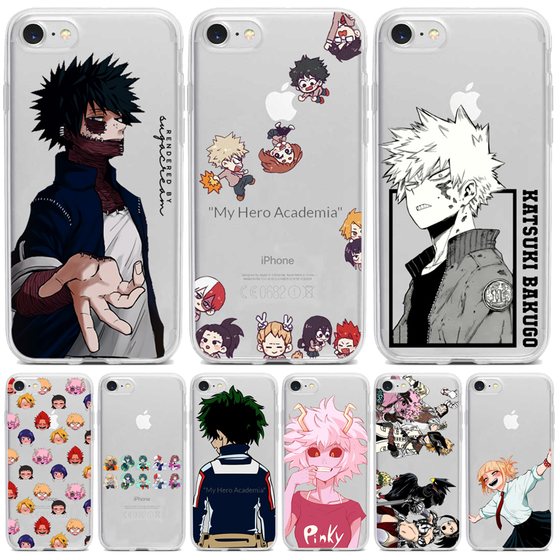 Чехол для телефона с аниме My Hero academic deku bakugou Boku no iphone 11 Pro 8 7 6 Plus X XS MAX 5 XR SE2020|Бамперы|