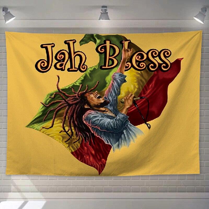 Tenture Rastafari Jamaïque | Rasta-Lion