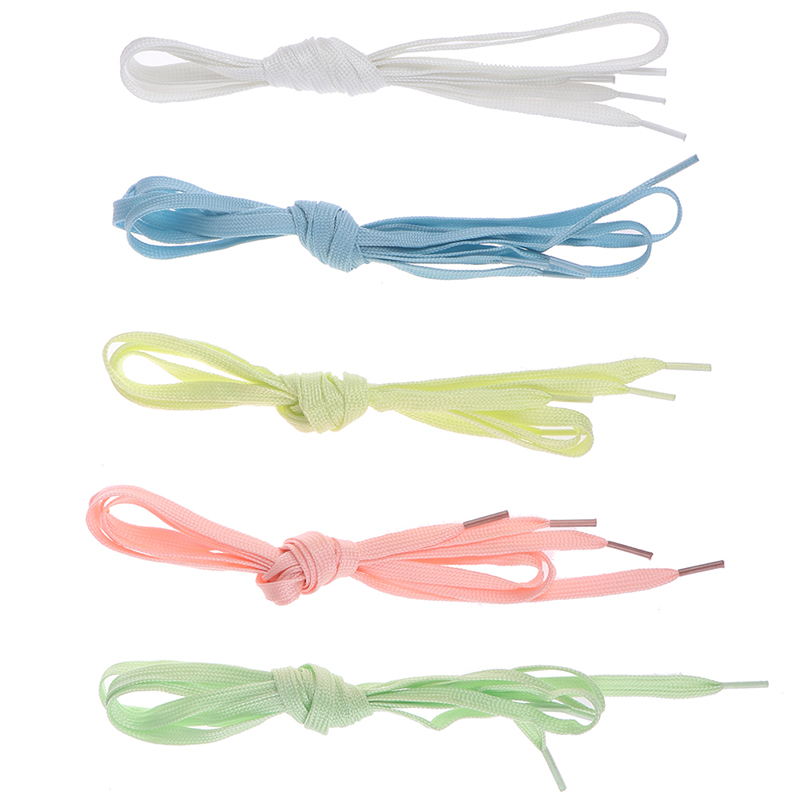 2pcs/Pair Glow Luminous Shoelaces Funny Sport Gift Running Fluorescent Gift Toys