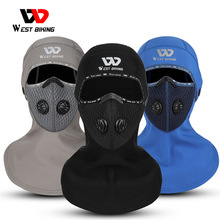 Cycling-Headwear Head-Cap-Hat FILTER-FACE-COVER Motocycle West-Biking Activated-Carbon