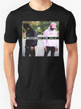 Мужская футболка Xxxtentacion X Лыжная маска the slimp God FLOCK Sz S-XXL(China)