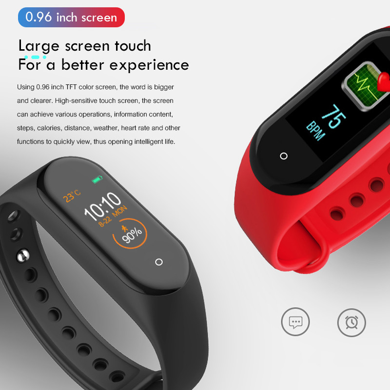M4-Smart-Band-Wristband-Heart-rate-Blood-Pressure-Heart-Rate-Monitor-Pedometer-Sports-Bracelet-PK-M3 (4)