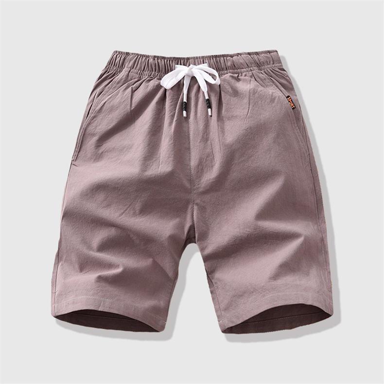 7Colors Summer Shorts Men Casual Running Shorts High Quality Brand Cotton Male Short Pants Plus Size 4XL 5XL 2019 Drop Shipping 10