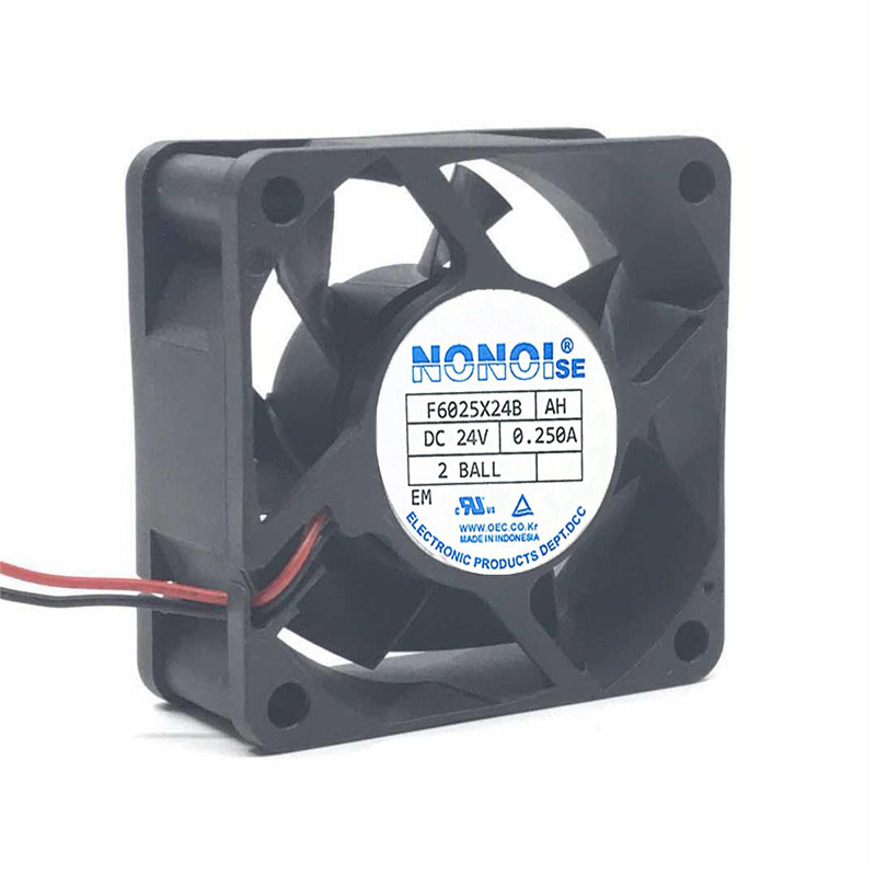 NMB FBA06A24H 6CM 24V 0.13A Ultra-quiet Inverter Fan 3-wire speed measurement