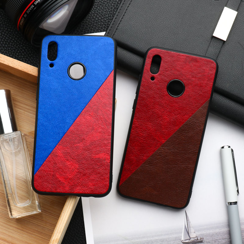 Y9 Prime 2019 Case Silicone Cover For Huawei Honor 10 Lite Note Play 3 10i 20i 8A 8C 8X Max 9X 7A 7C Pro P Smart Z Frabic Bumper