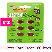Fuel-Booster Carbon-Cleaner for Petrol Add Luburication Usa-Made 2 Blister-Cards-Dyno-Tab