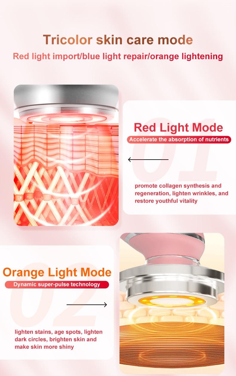 Anti-Ageing Skin Lifting RF & EMS LED Beauty Device