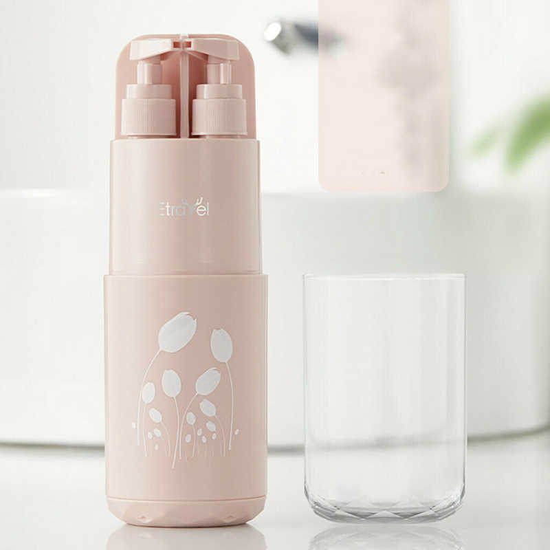 Travel Wash Cup Portable Travel Toiletries Toothpaste Toothbrush Storage Outdoor