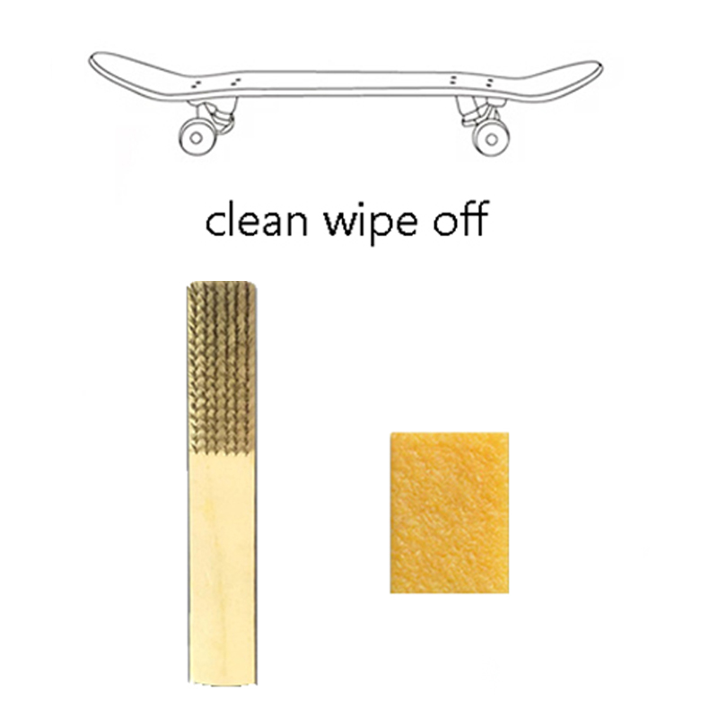 YDong Skateboard Eraser Grip Tape Gum Sandpaper Cleaner Skate Board Clean Accessories