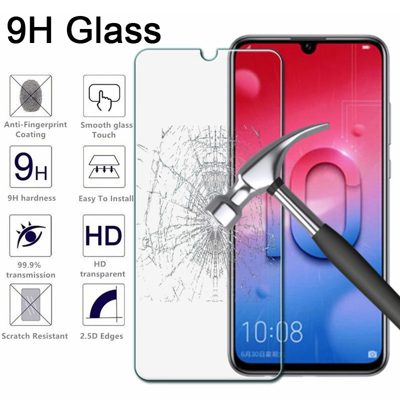 Screen-Protector Protective-Glass Honor 8s-Phone Front-Film 9H Huawei for Toughed 7S title=