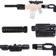 Flashlight Nerf Decoration Sighting-Device Modified-Part for Toy-Gun Guide-Rail