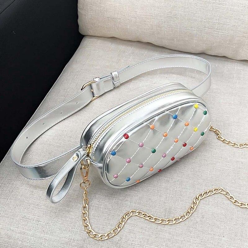 Polka Dot Waist Packs Belt Bag Luxury Women Waist Pack Lady Chest Shoulder Bag Purse